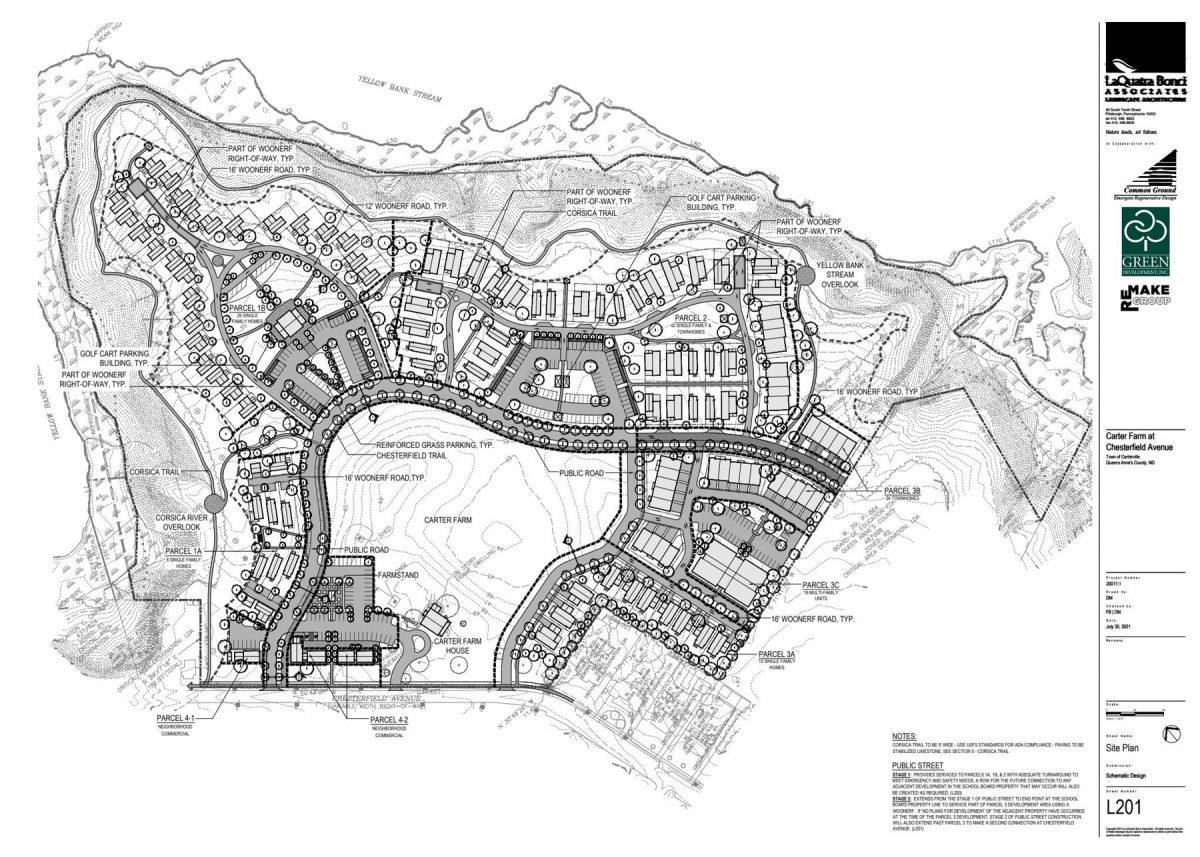 Carter Farm Site Plan 2021-07-30