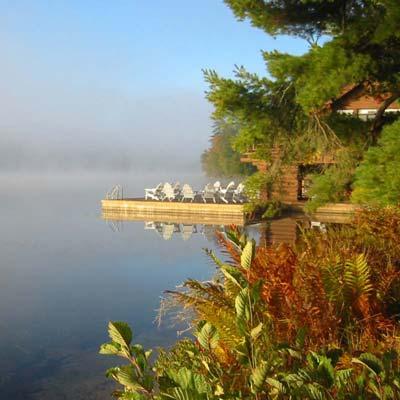 Eagle Lake New York Adirondack Mountains