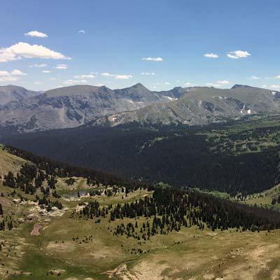 Larimer Colorado Mountains plateau conservation