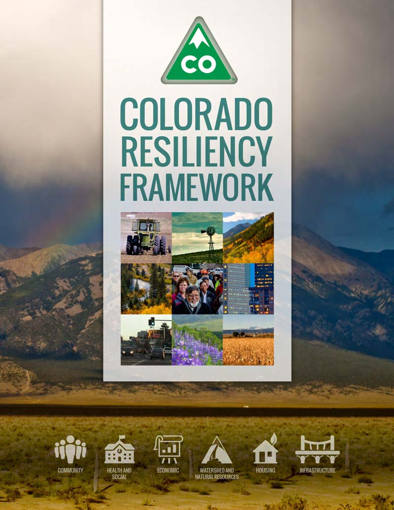Colorado Resiliency Framework document cover