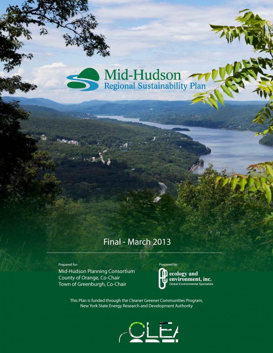 Mid-Hudson Regional Sustainability Plan 2013