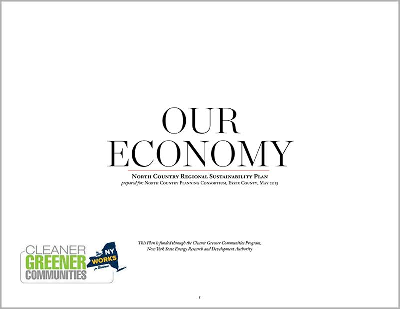 north country regional sustainability plan